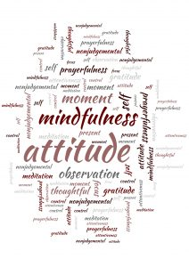 mindfulness words